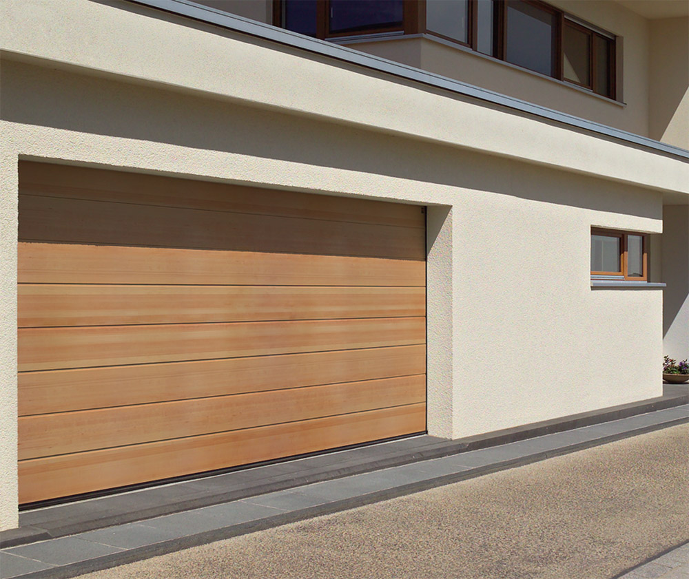 Damit Garagen: Garagen-Sectionaltore